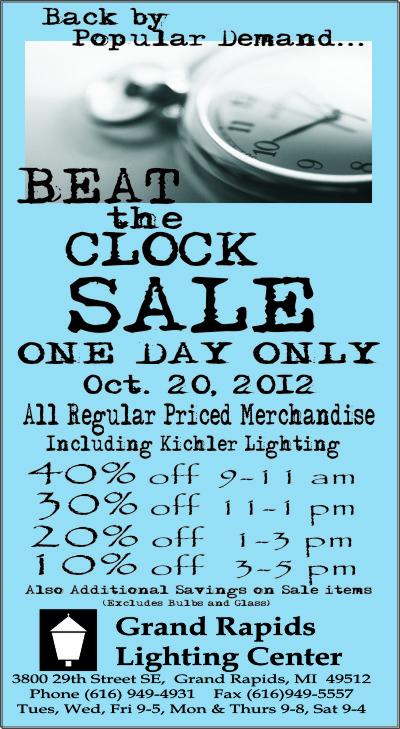 Beat The Clock At Grand Rapids Lighting Center