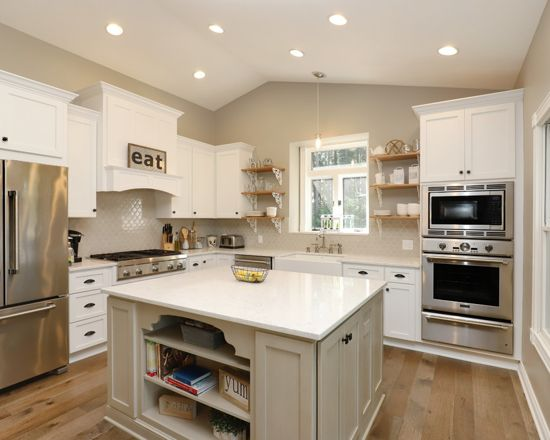 Open Floor Plans Drive Kitchen Cabinet Trends for 2019